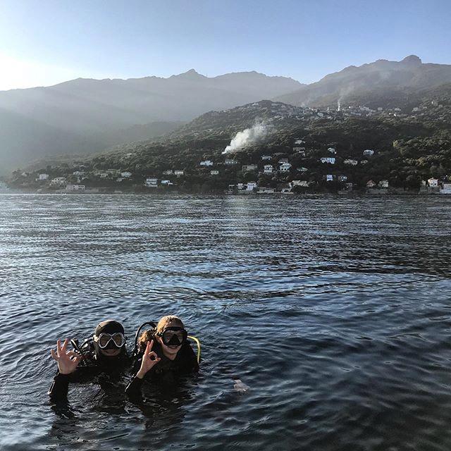 Baptême - Calypso Marine centre de plongée à Erbalunga Cap CORSE